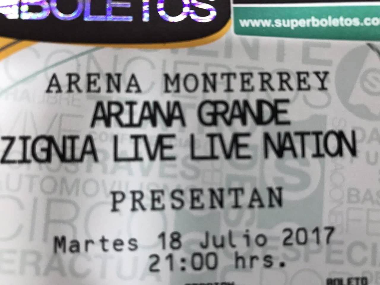 ¿Qué hacer si tenías boletos para Ariana Grande en Monterrey?