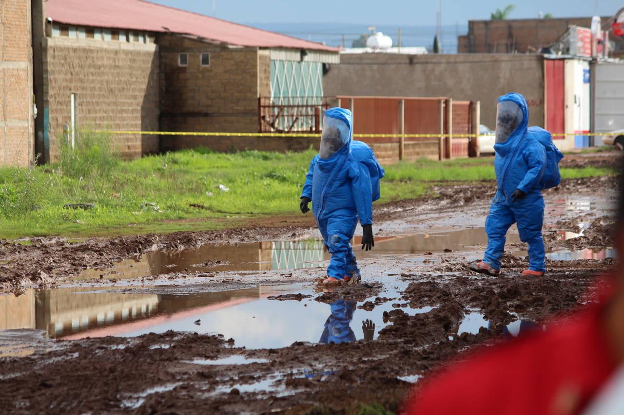 Descuido provoca alerta química en Durango