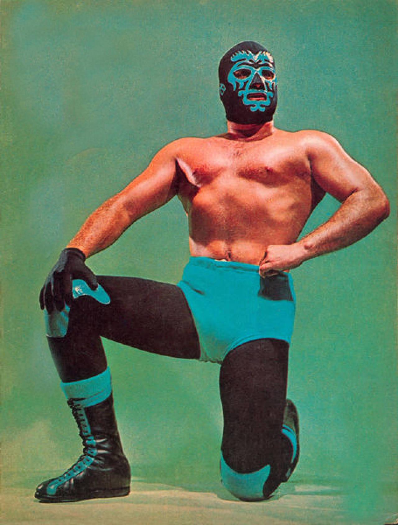La elegancia hecha luchador: Mano Negra