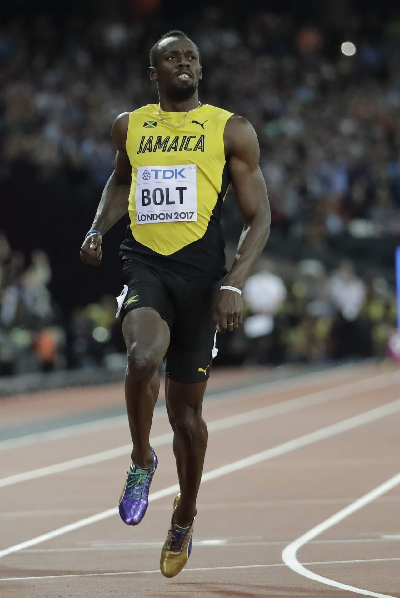 Va Bolt por la última zancada
