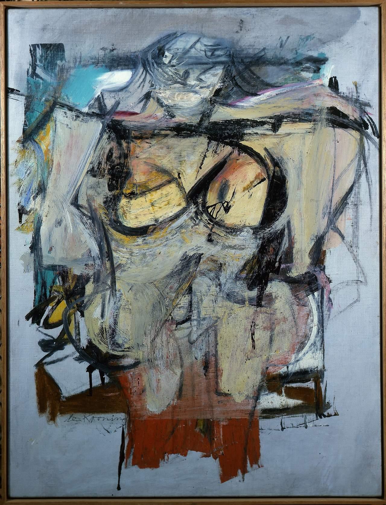 Woman-Ochre, de Willem de Kooning