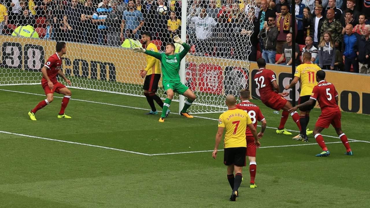 Watford empata 3-3 con Liverpool