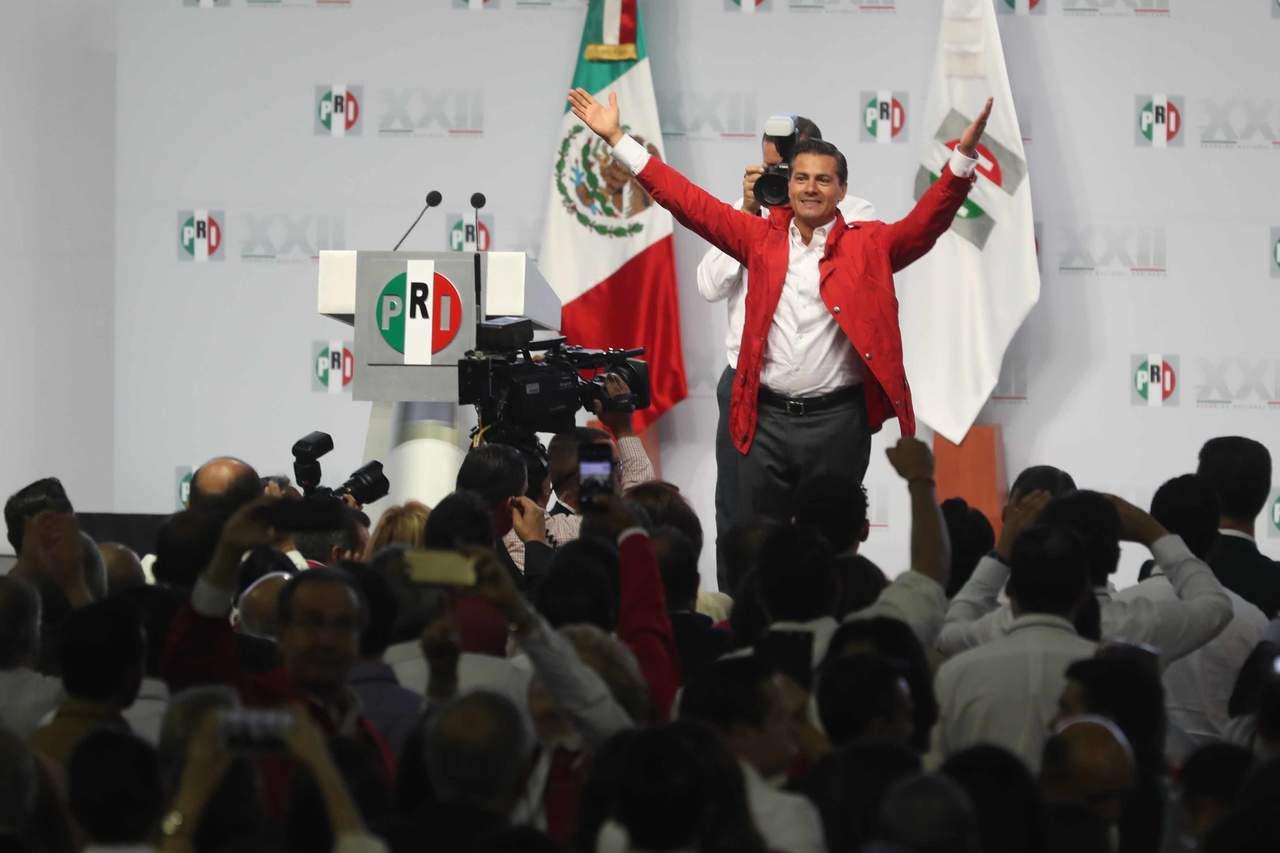 Vamos a la batalla decisiva; México gana cuando gana el PRI: Peña Nieto