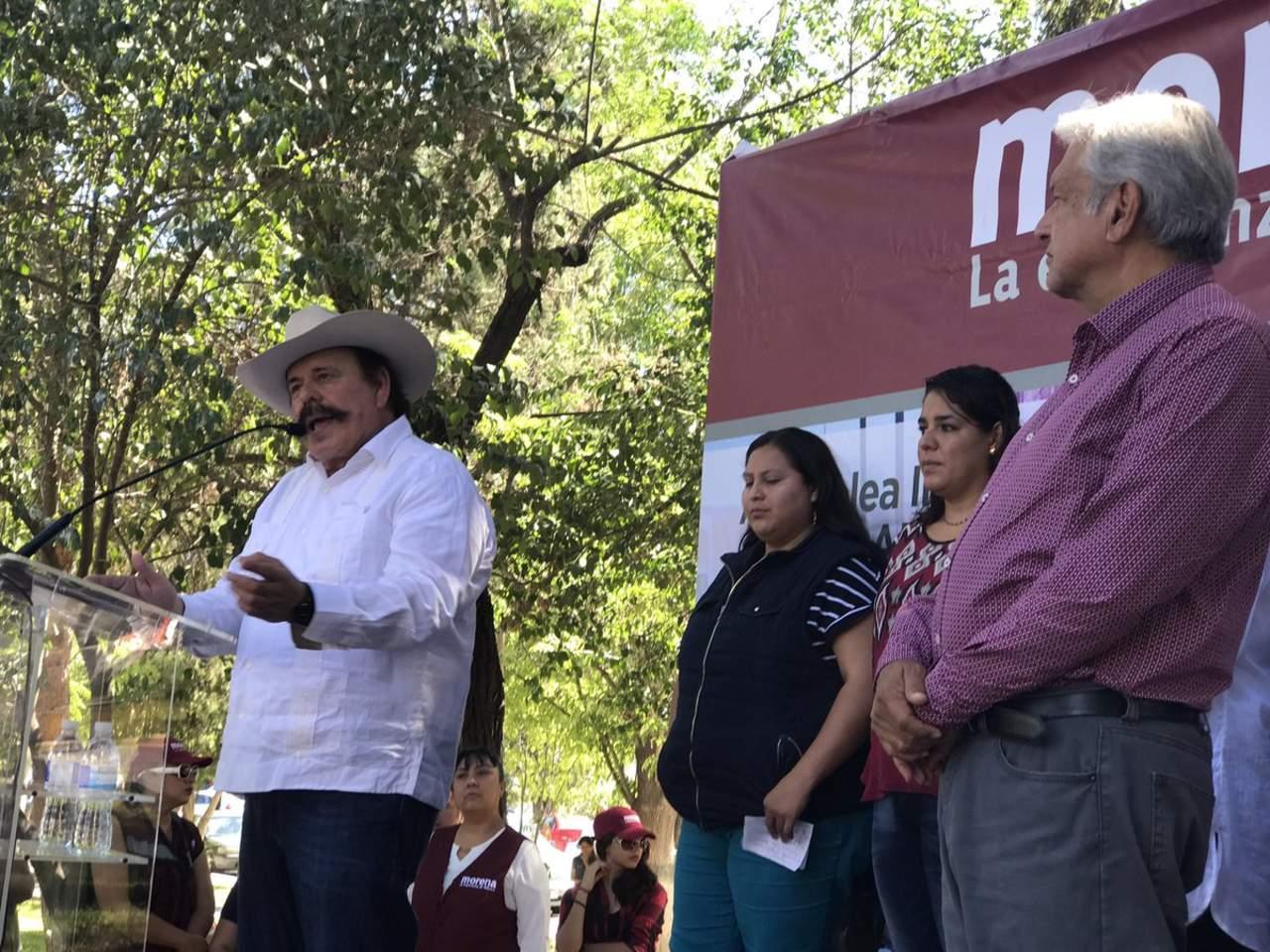 No detendremos la lucha post electoral: Guadiana