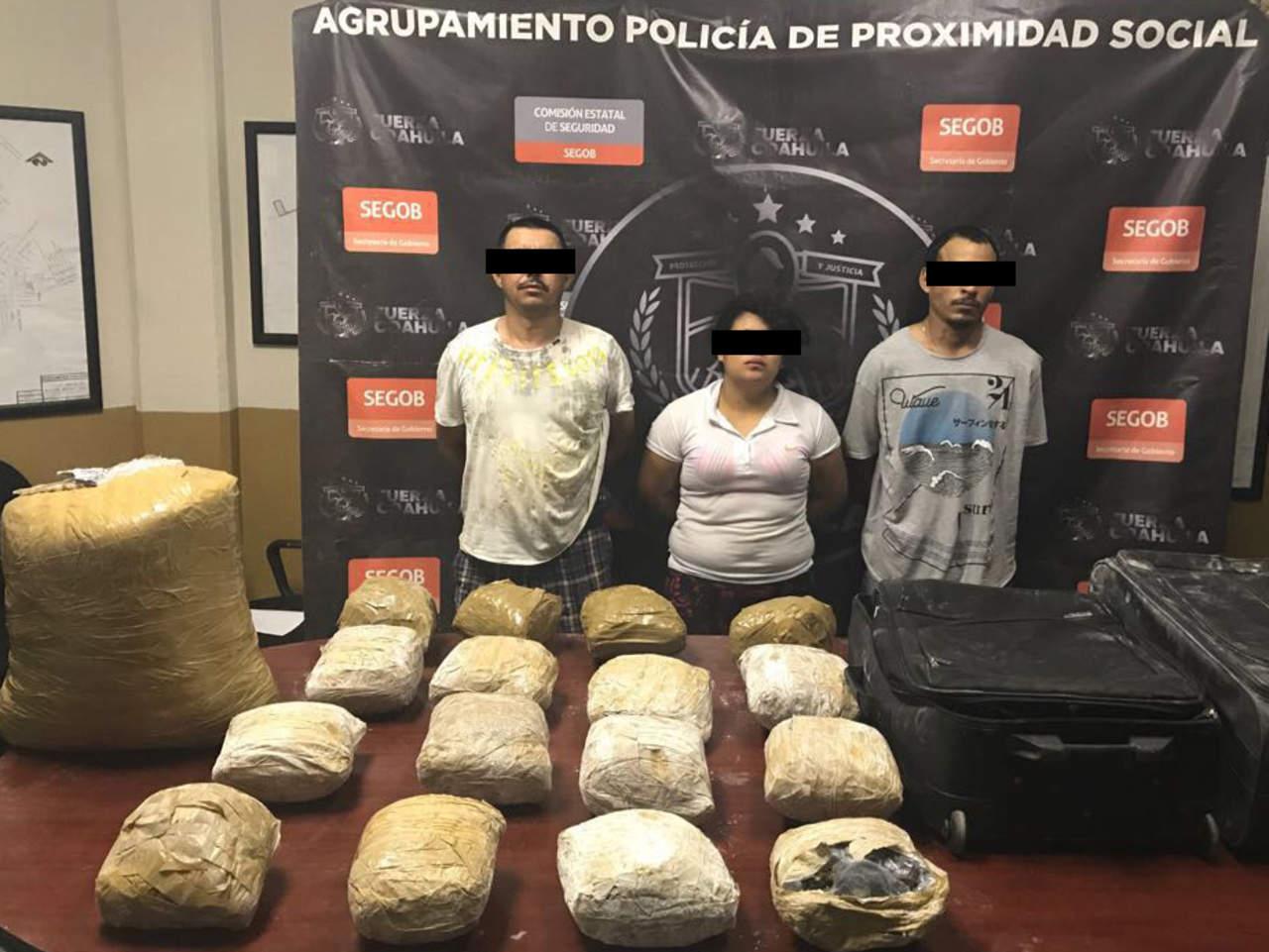 Asegura Fuerza Coahuila dos importantes cargamentos de droga