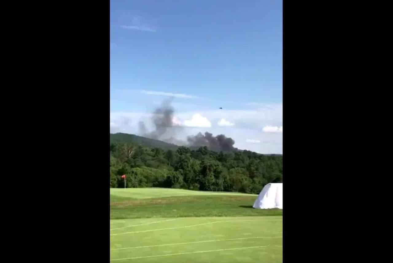 Cae helicóptero en Virginia; hay dos muertos