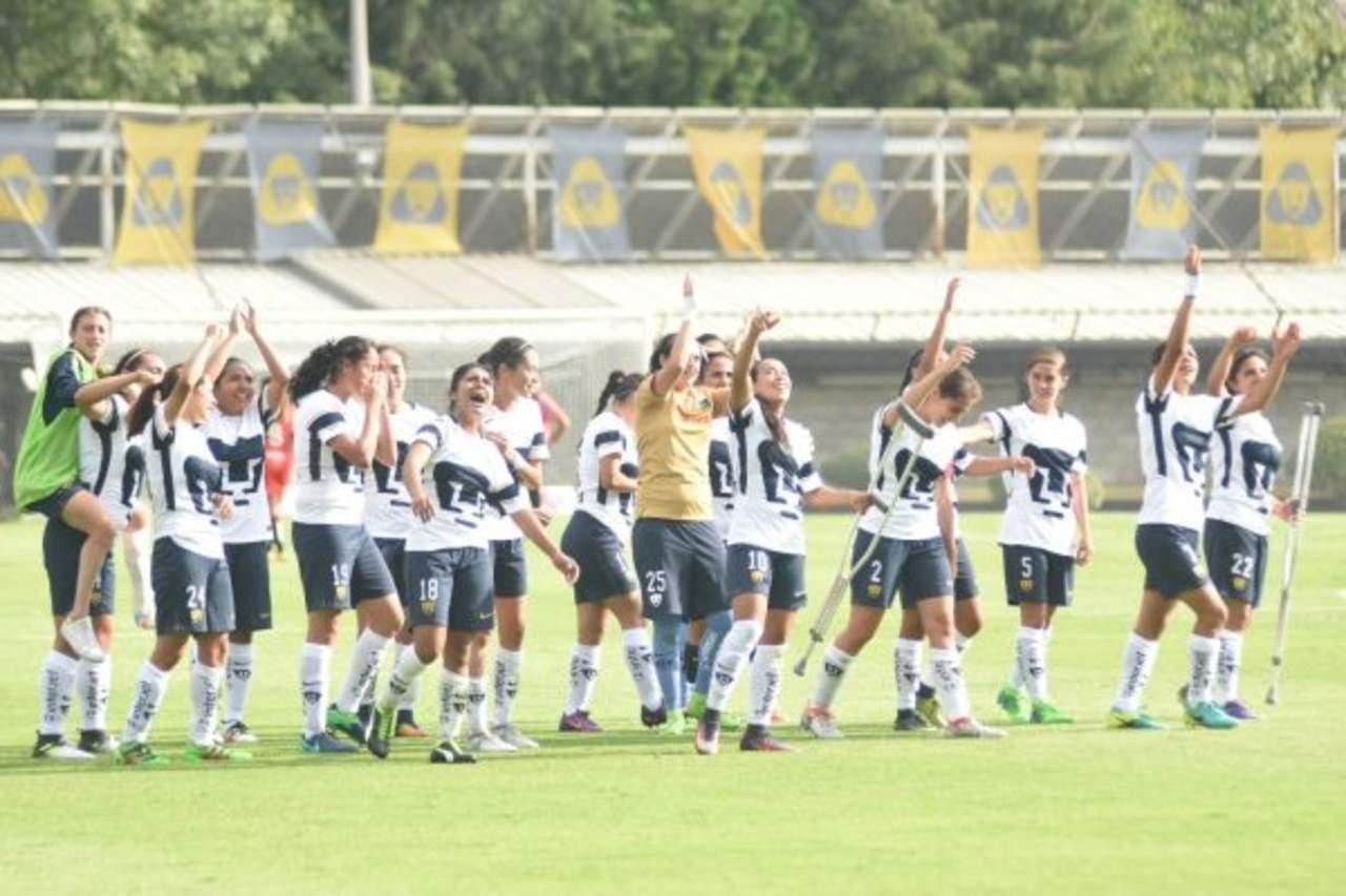 Logra Pumas su primer triunfo en la Liga MX Femenil