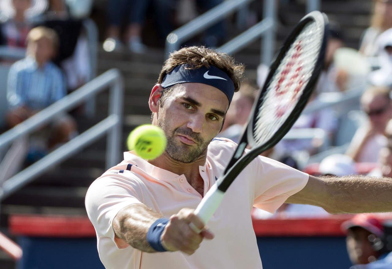 Roger Federer está en su sexta final en el Master 1000 de Montreal