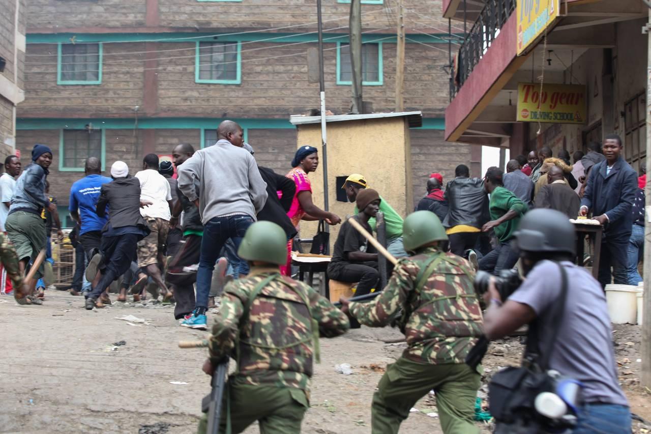 Decenas de muertos en protestas en Kenia