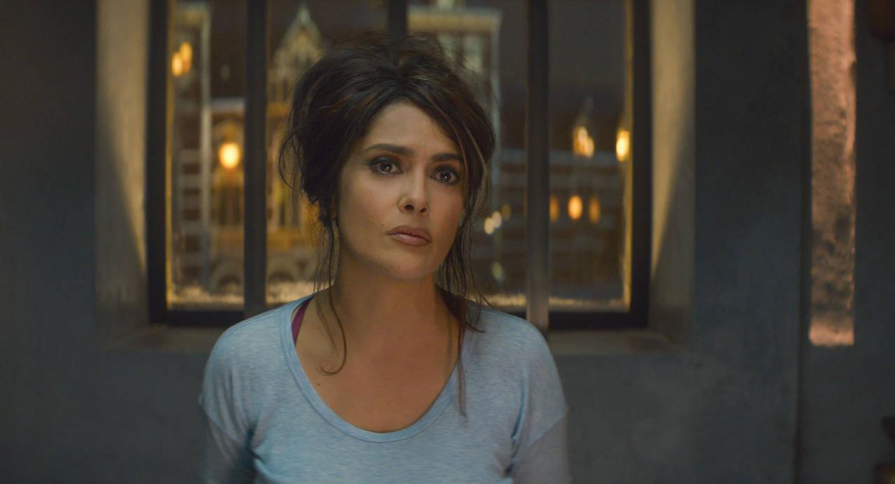 Salma, enojada con Oscar <p>