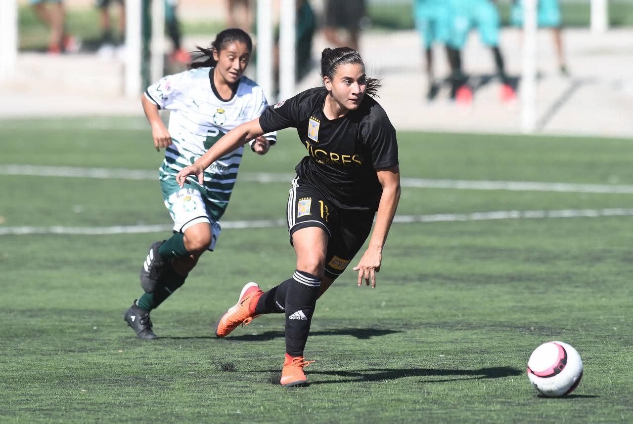 Tigres golea 6-0 en el TSM a las Guerreras