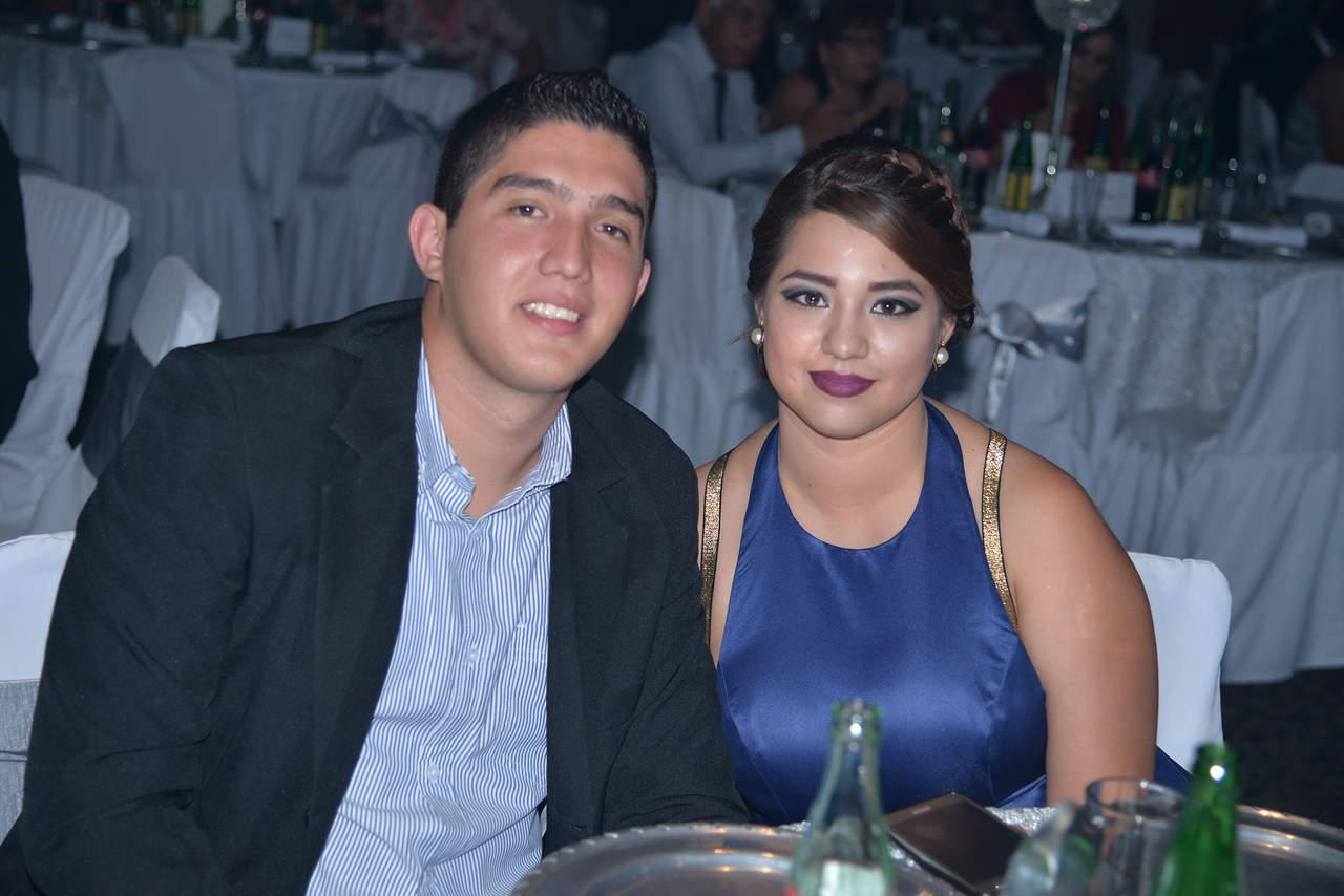 En la boda de Anabel y Edgar