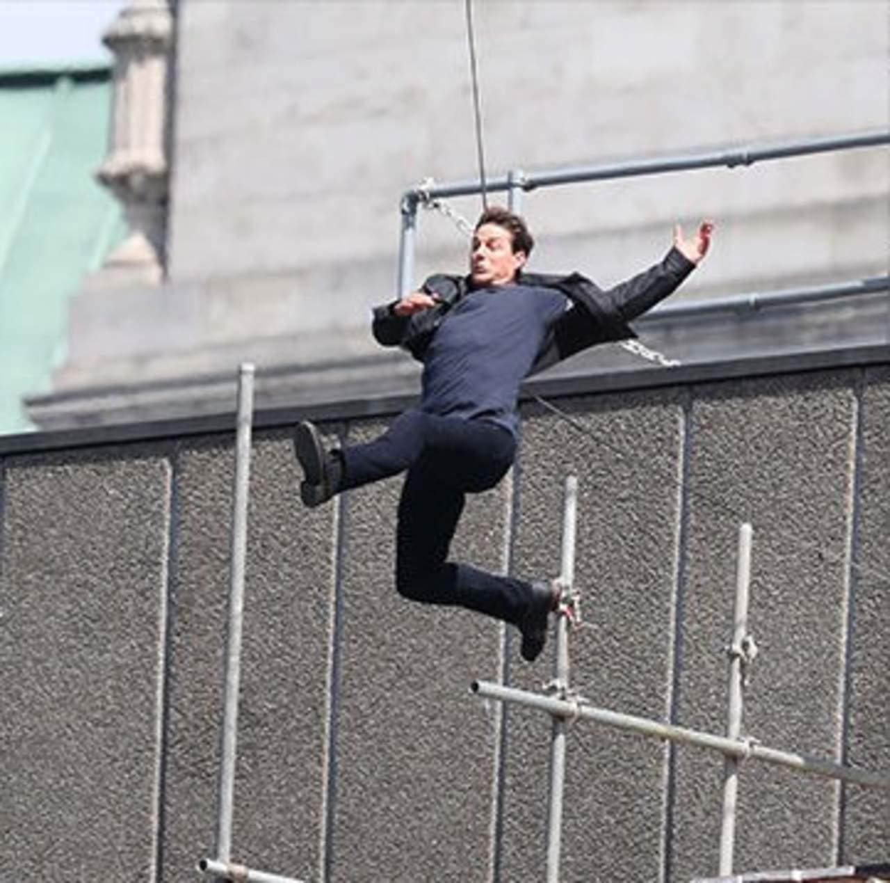 Se lesiona Tom Cruise en rodaje de Misión Imposible 6