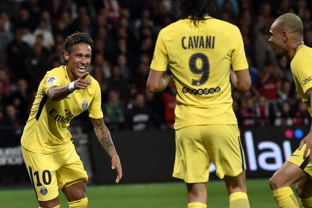 Neymar debuta con gol en triunfo del PSG