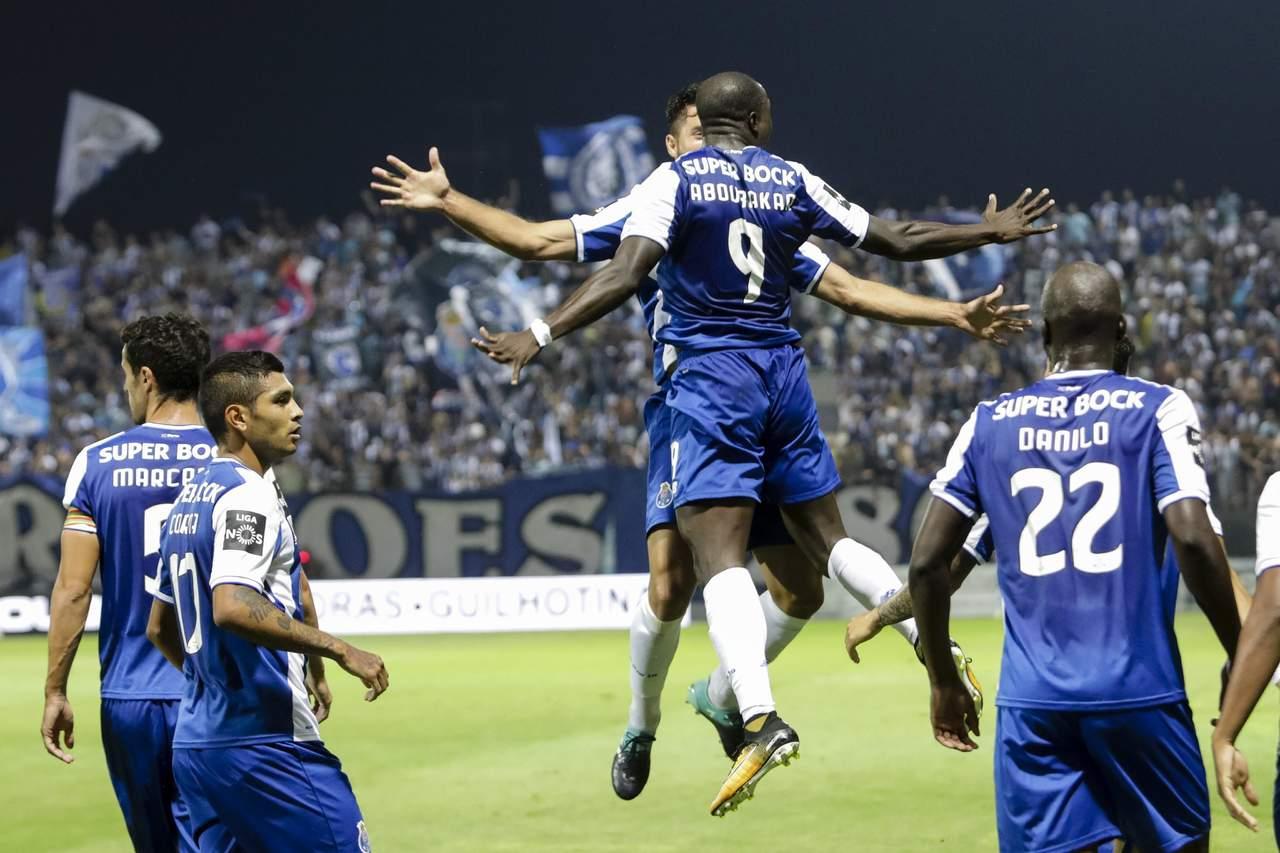 Porto vence por la mínima al Tondela