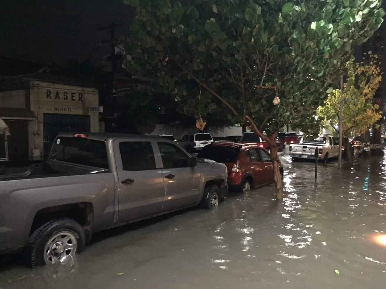 Azota tormenta a La Laguna