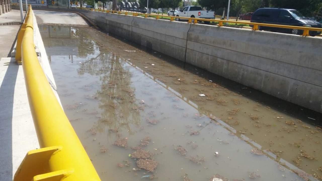 Se vuelve a inundar desnivel Francisco Sarabia de Lerdo