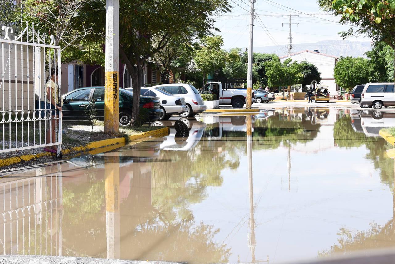 Tromba dejó estragos en ciudad de Torreón