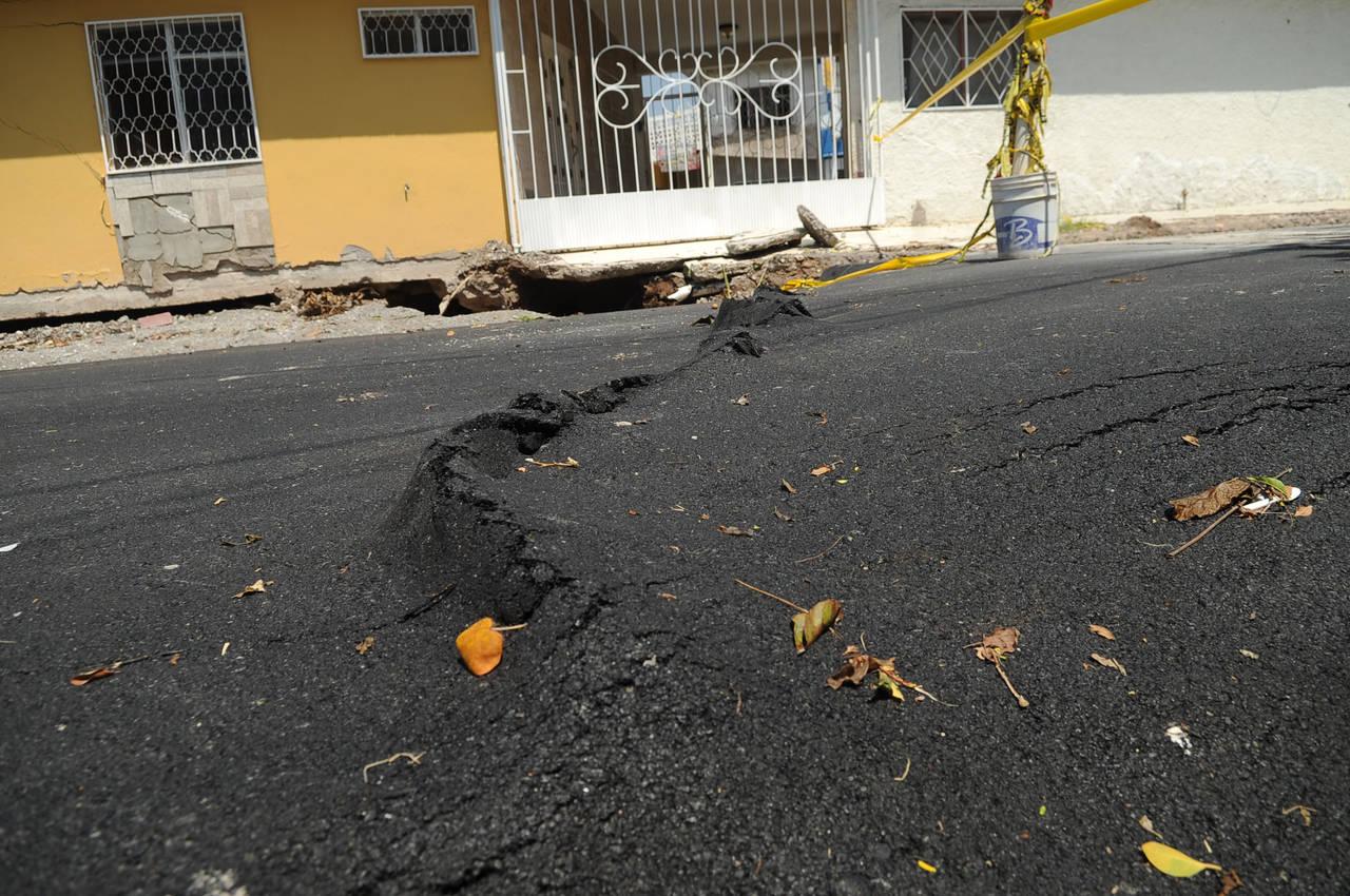 Temen por daños en la colonia Bellavista