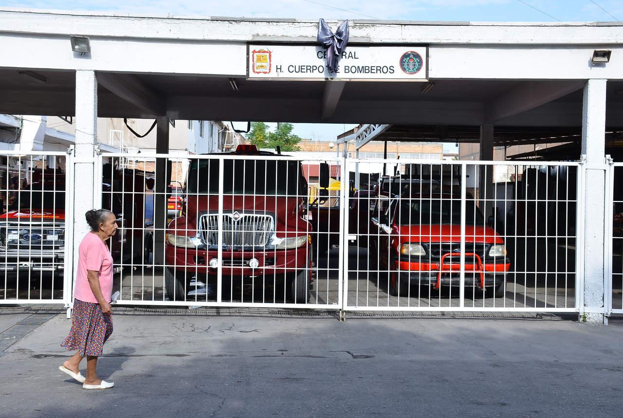 Bomberos de Torreón no celebran su día