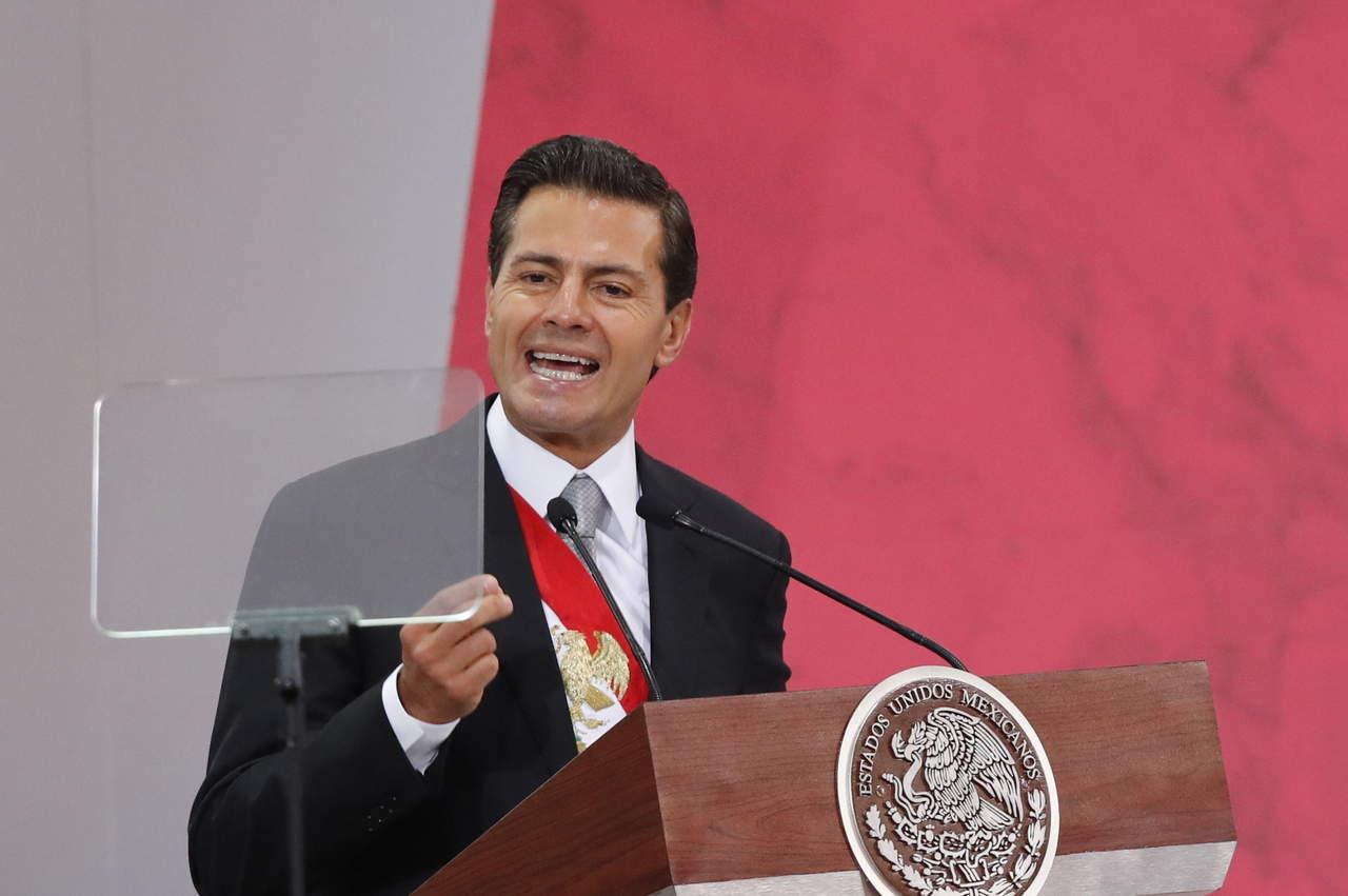 Peña Nieto lanza