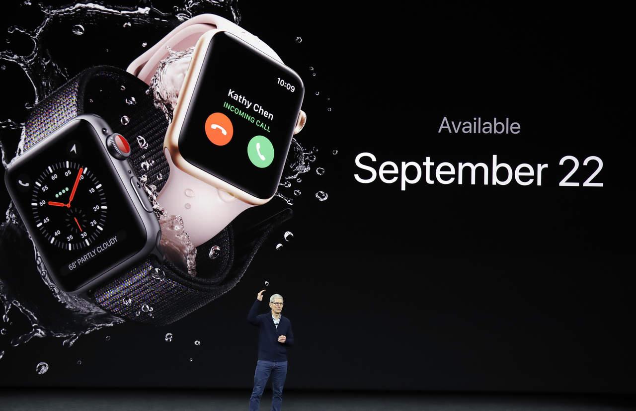 Apple Watch 3 tendrá señal celular independiente
