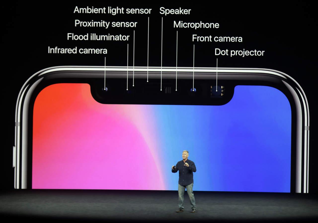 Apple presenta el iPhone X, sin botón de inicio y con reconocimiento facial