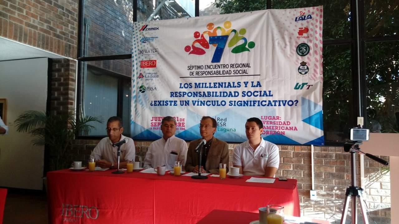 Presentan Séptimo Encuentro Regional de Responsabilidad Social