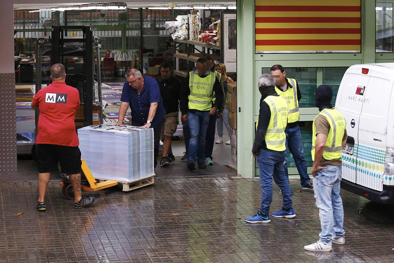 Intervienen las cuentas del ejecutivo catalán
