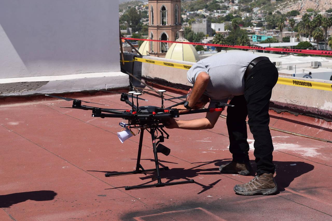 Analiza Gómez Palacio el uso de drones en vigilancia