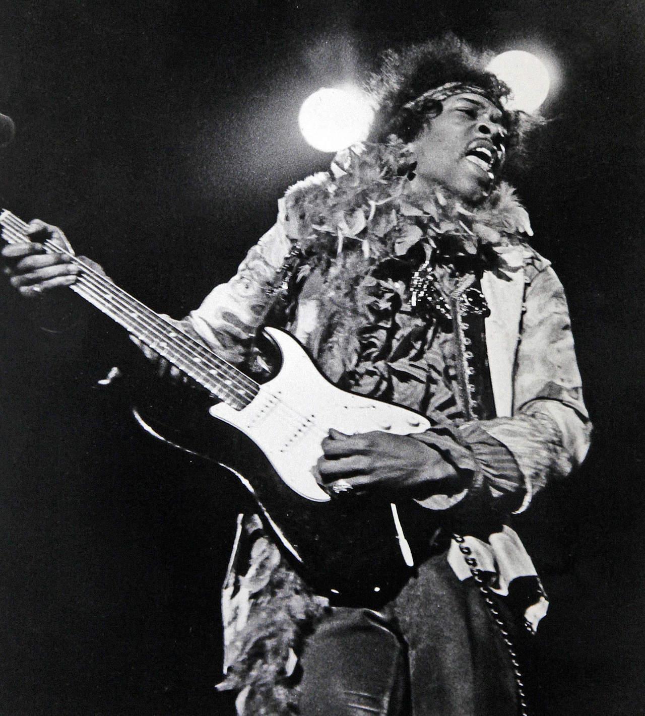 1970: Da su último respiro Jimi Hendrix, el mejor guitarrista de todos los tiempos