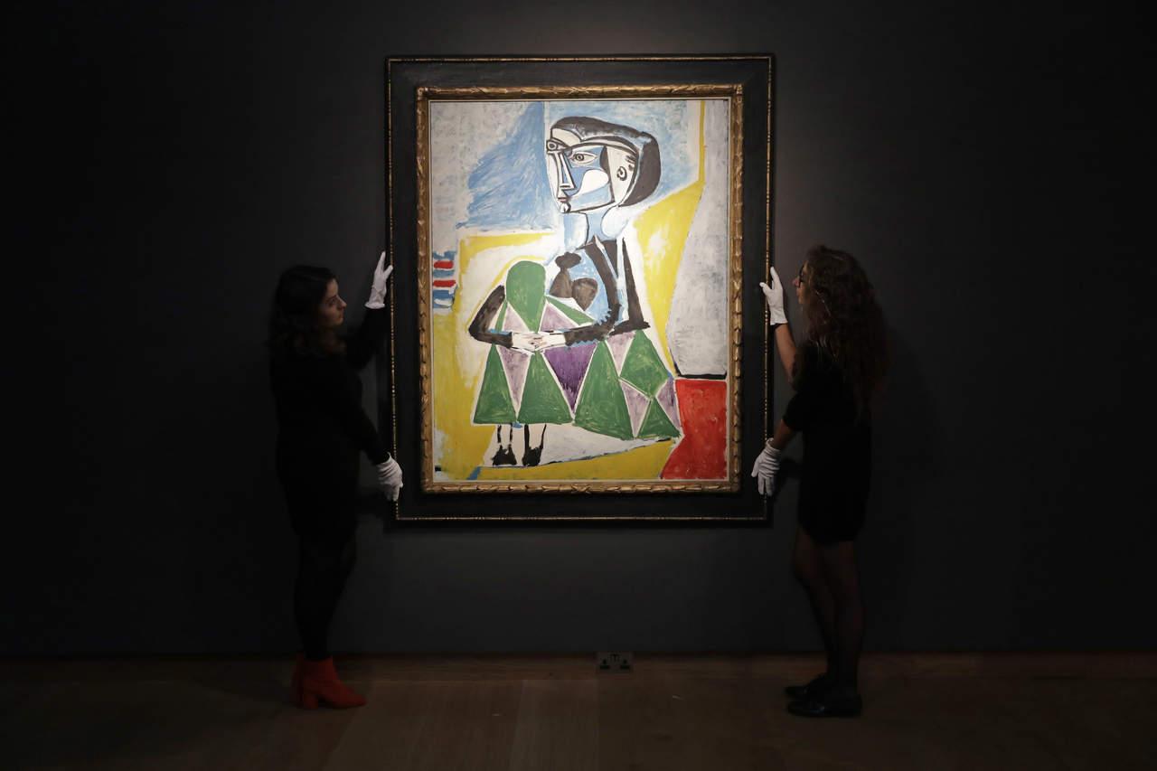 Mujer agachada (Jacqueline), de Pablo Picasso