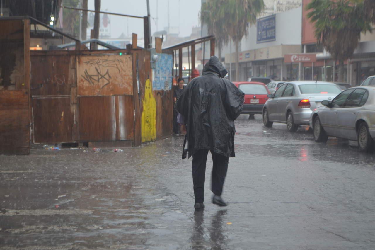 Pronostican lluvias fuertes para el miércoles próximo