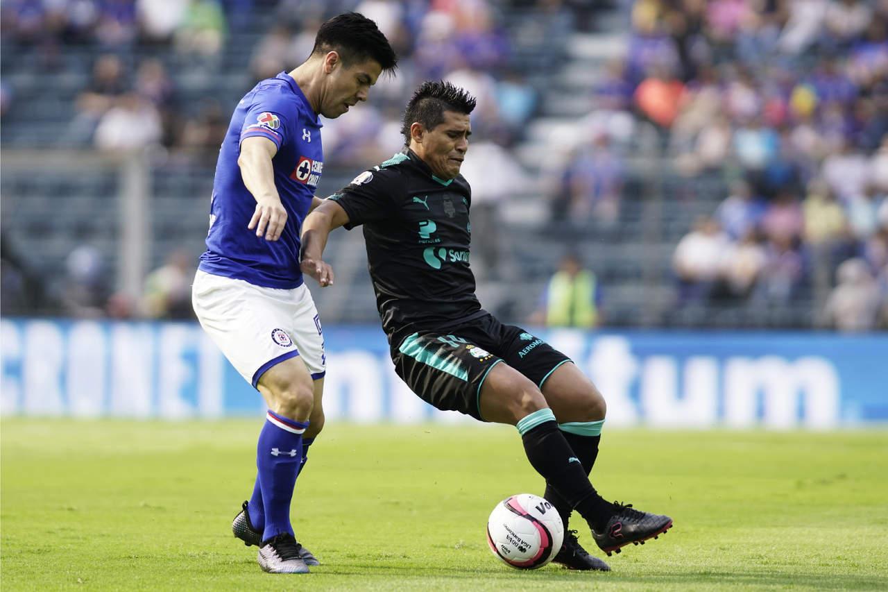 Acaba el partido: Cruz Azul vence 2-1 a Santos