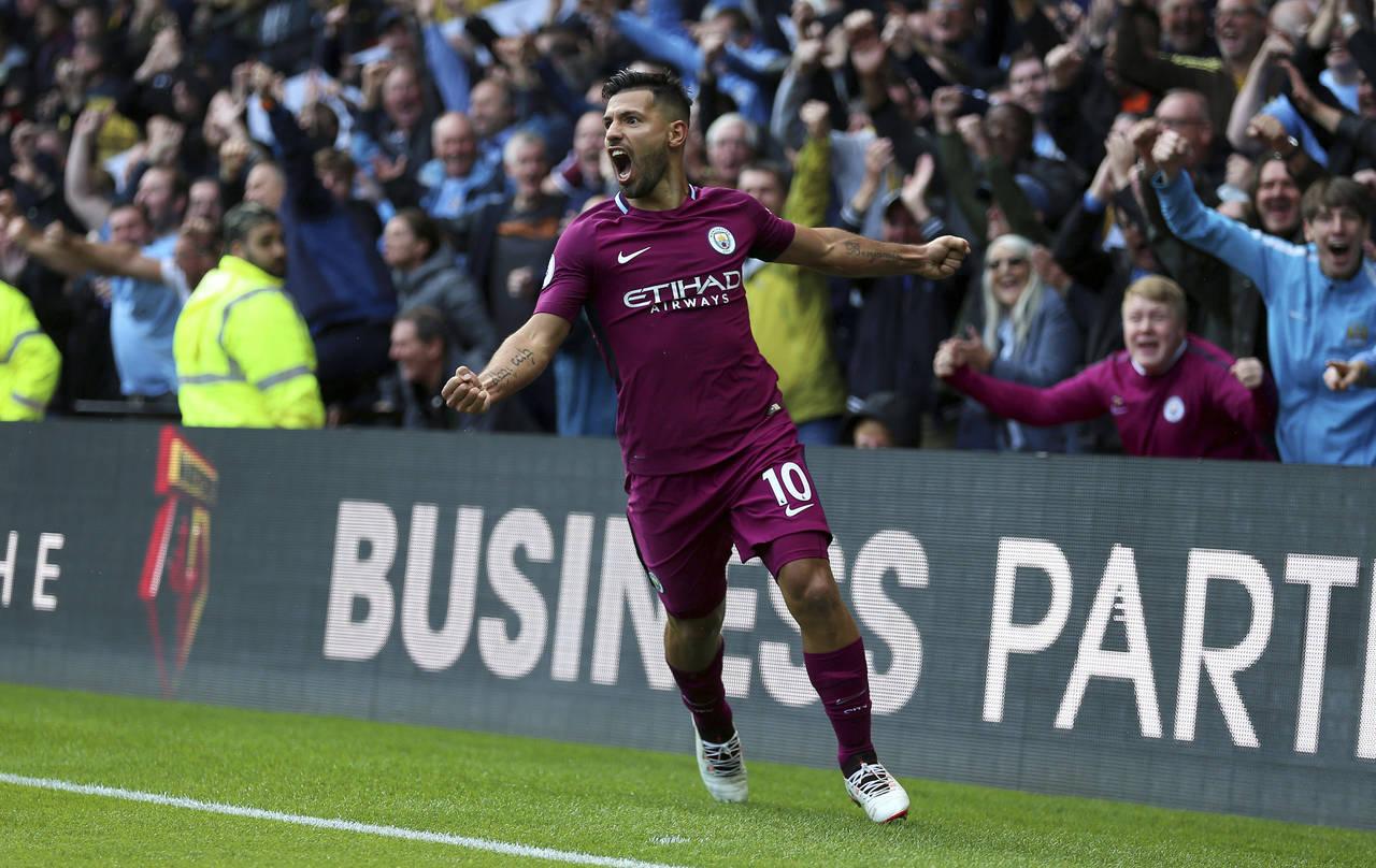El Manchester City aplasta 6-0 a Watford