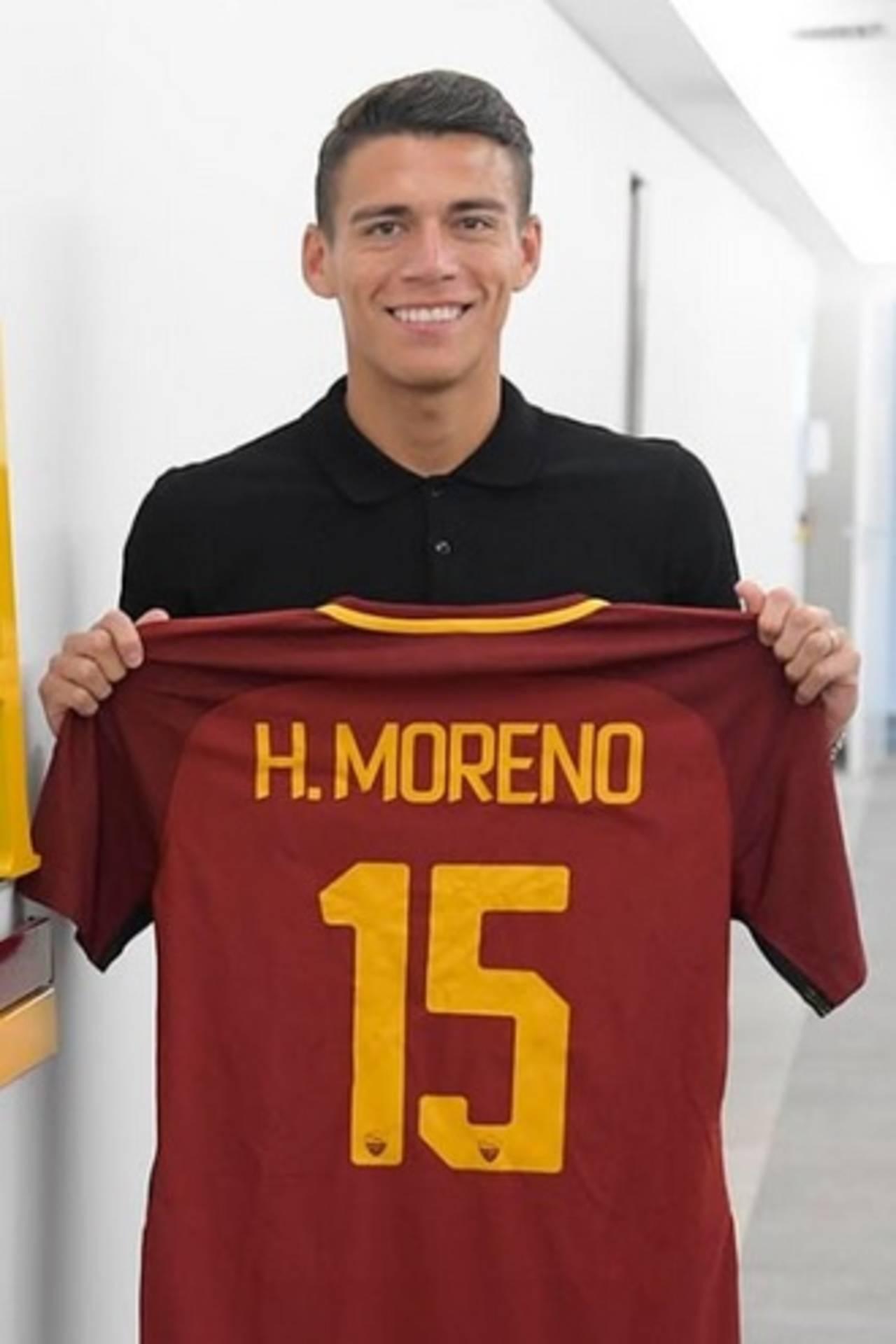 Héctor Moreno debuta en triunfo de la Roma</p> <p>