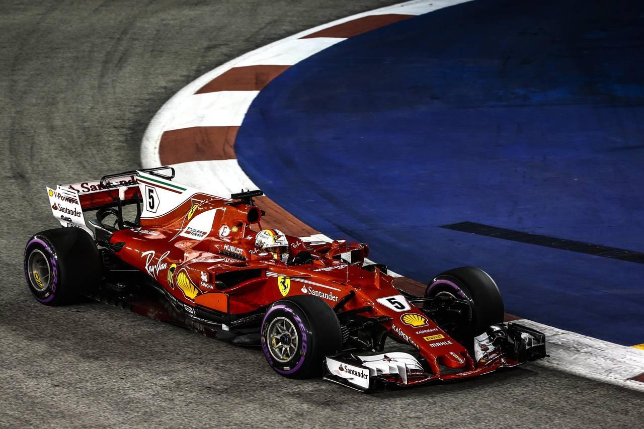 Vettel consigue la