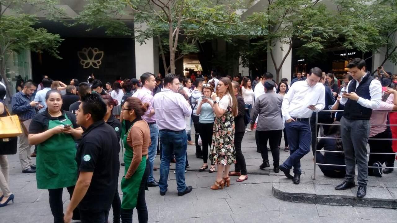 Fuerte sismo sacude México