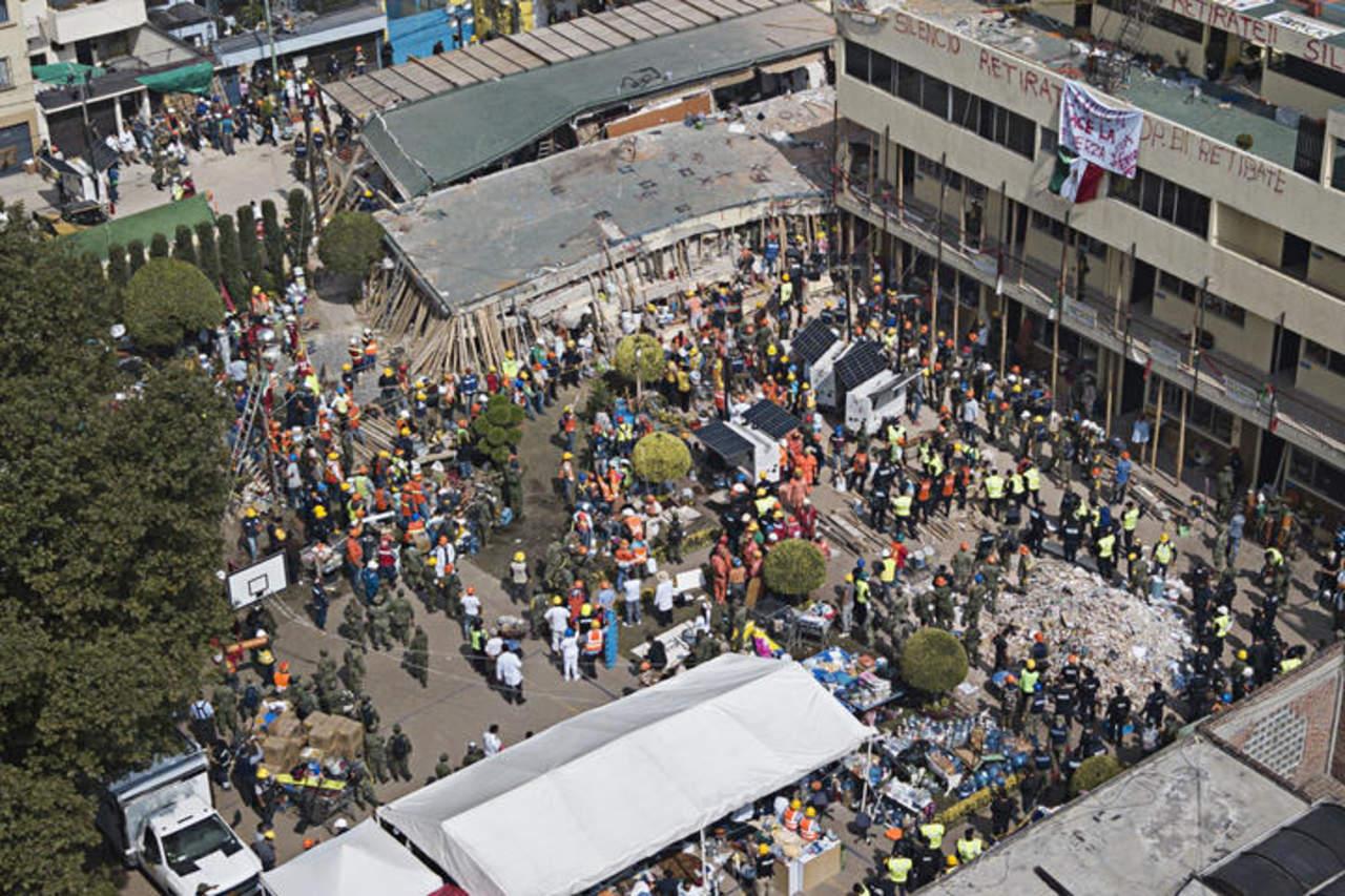 Muere duranguense en el Rébsamen tras sismo
