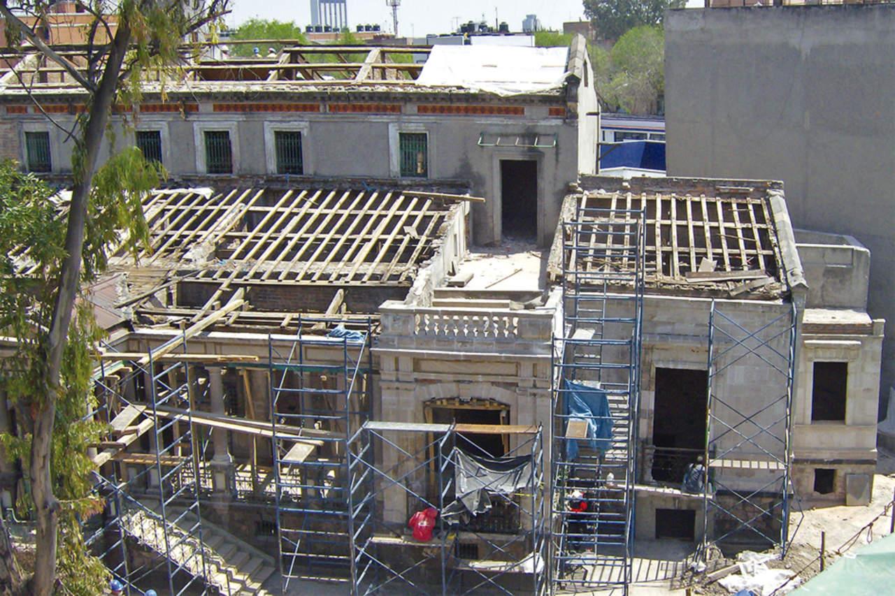 Casa Rivas Mercado, rehacer un símbolo