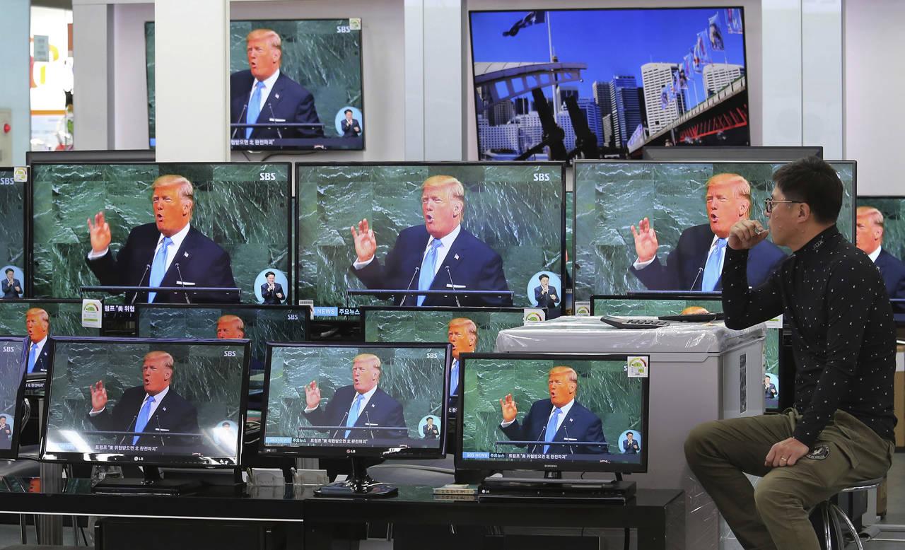 Ahora Trump llama loco a Kim