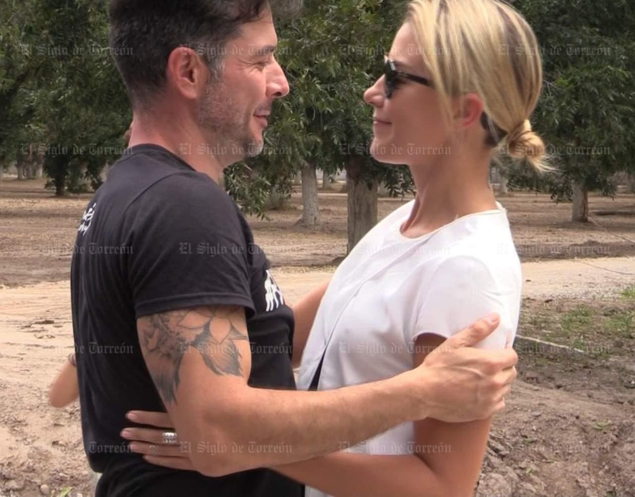 Raúl Méndez y Fernanda Castillo viven emotivo reencuentro en Torreón