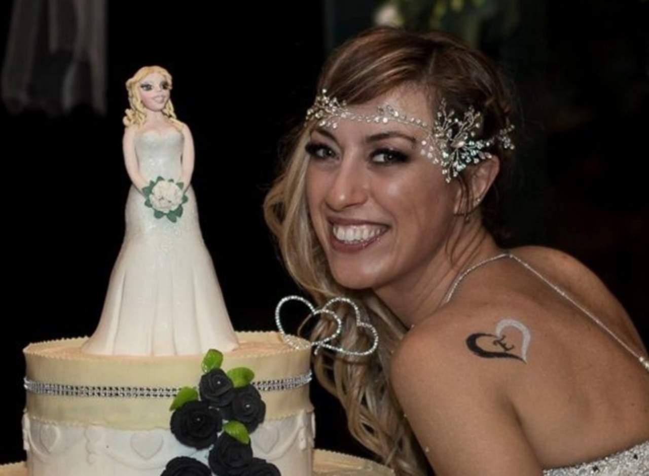 Se casa consigo misma, porque es 'el amor de su vida'