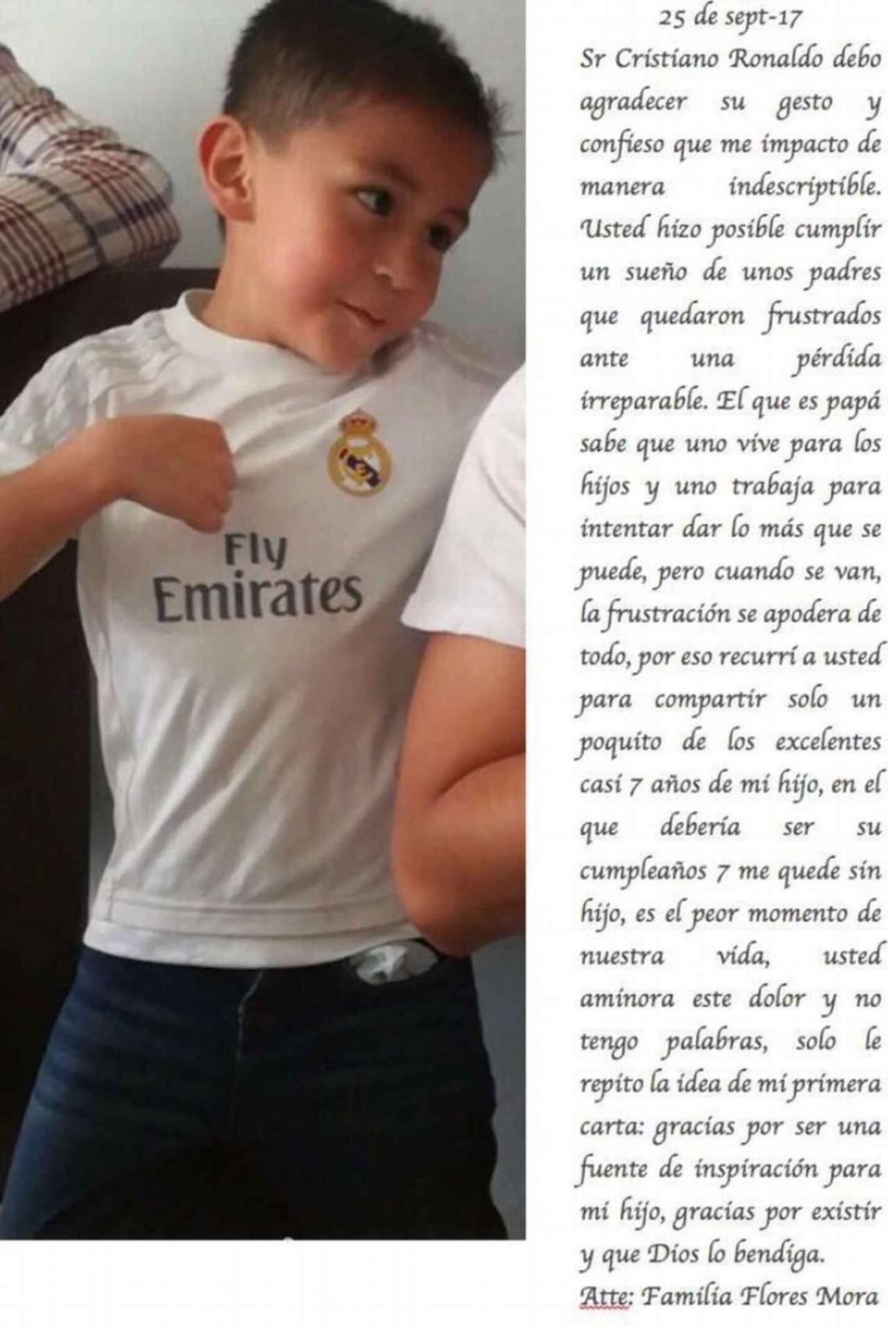 Papá de Santiago le respondió a Cristiano Ronaldo