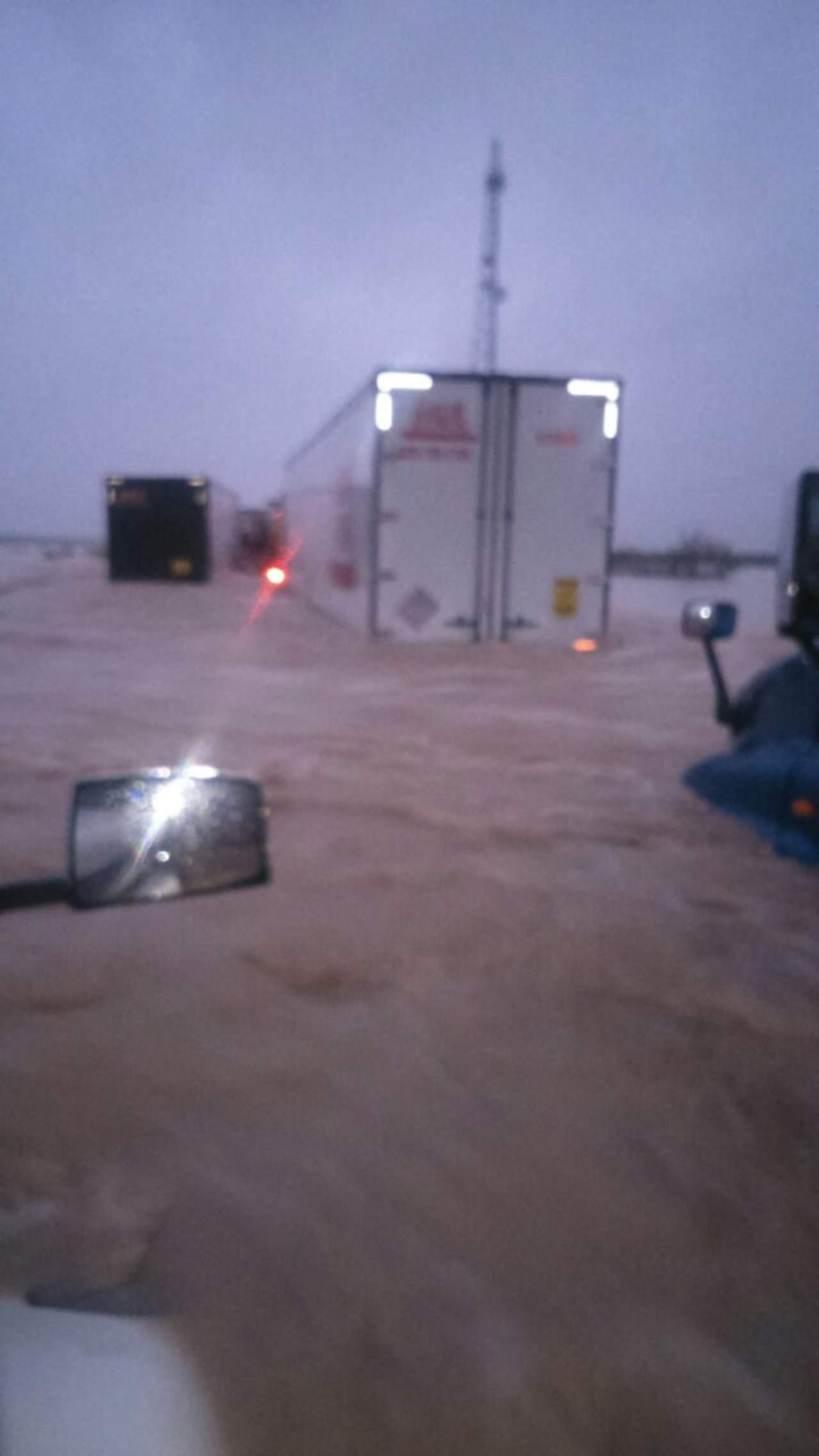 Cierran la Monterrey-Nuevo Laredo debido a inundaciones