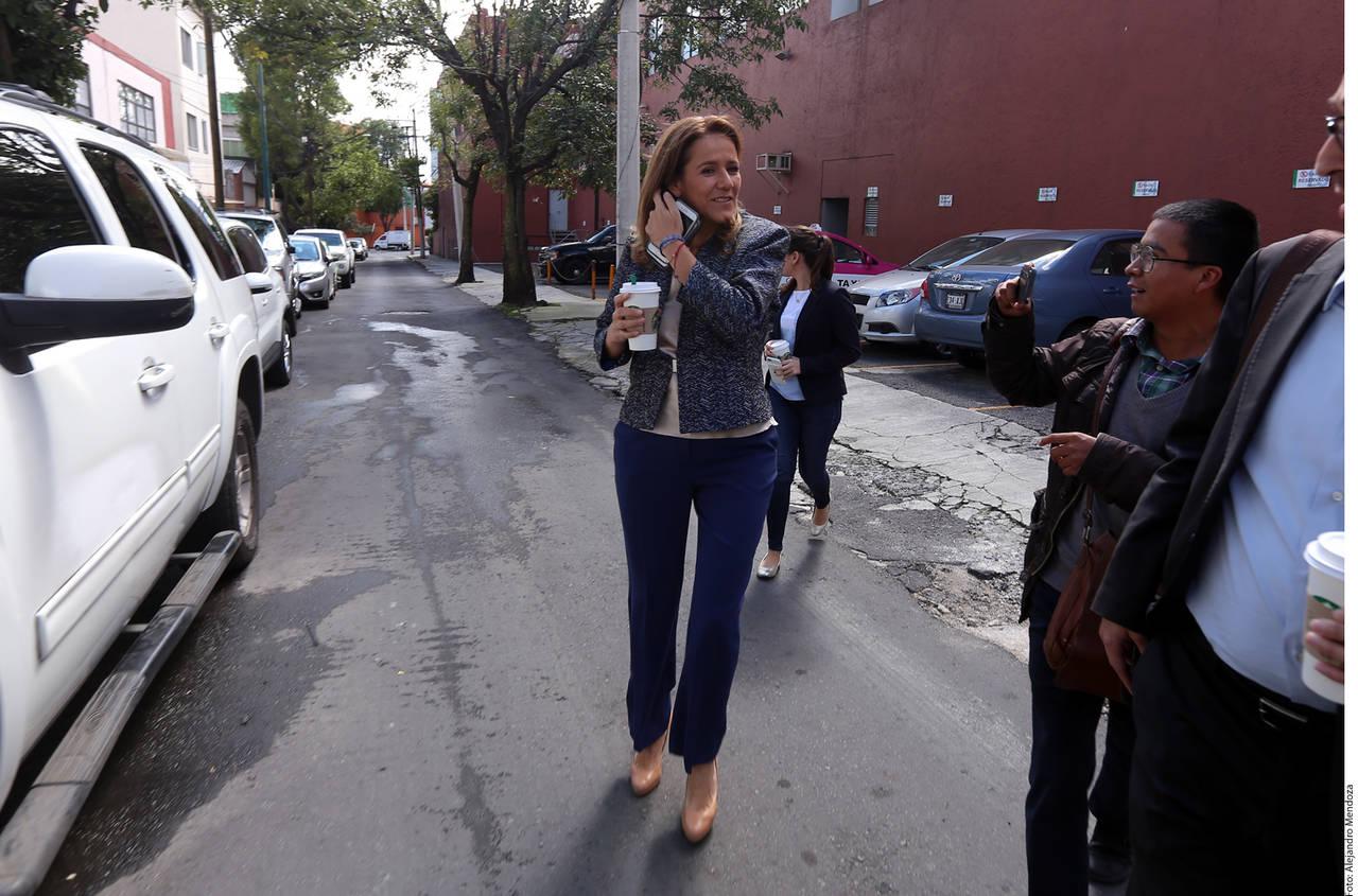 Cerraron libertades en PAN, dice Zavala