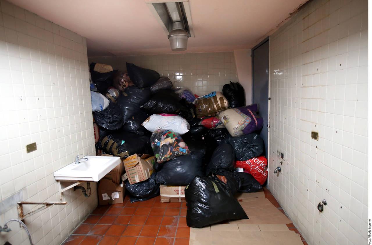 Tapan escondite de víveres en la CDMX