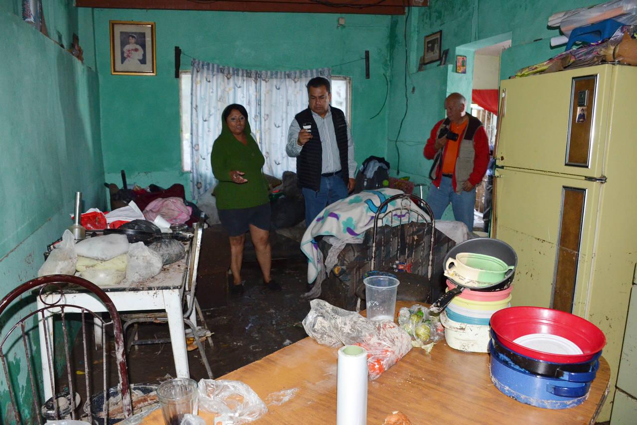 Evalúan daños por lluvias en Torreón