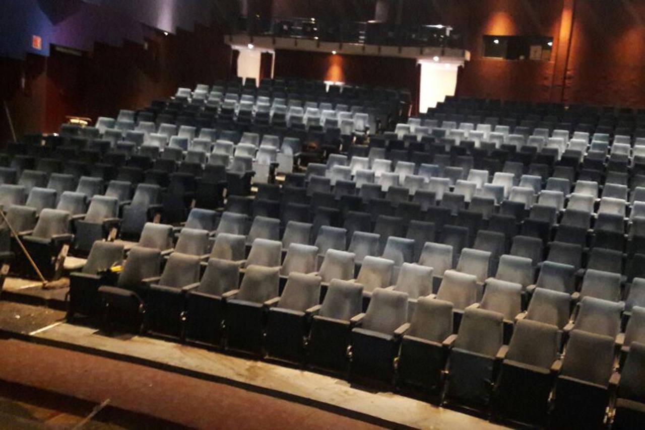 Quitan el agua del teatro Alvarado