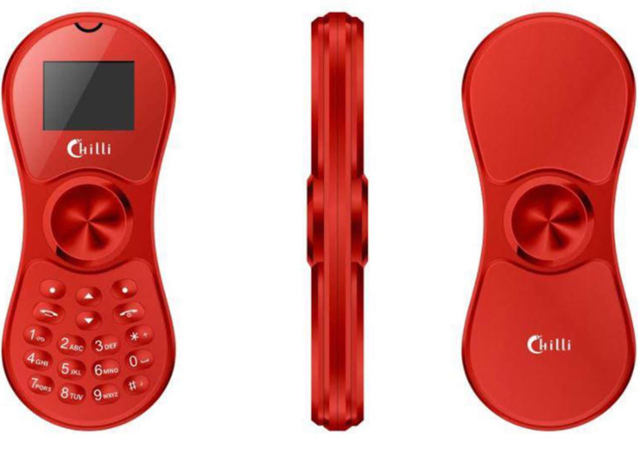 Crean teléfono celular de Fidget Spinner